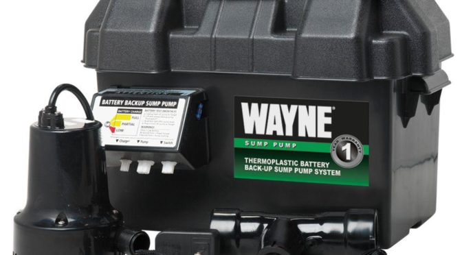 Wayne Esp15 12 Volt Battery Back Up Sump Pump Review A Good Budget Battery Backup System Pump That Sump