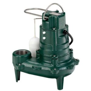 A sewage or sump pump like the M267 will require venting during installation.