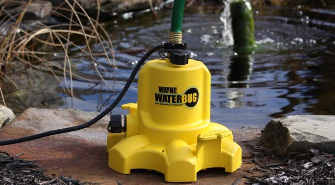 Wayne Wwb Waterbug Submersible Utility Pump Review Pump