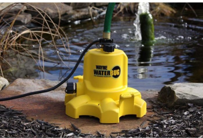 Wayne Wwb Waterbug Submersible Utility Pump Review Pump