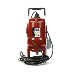 If you're serious about your small business, you'll want a sewage grinder pump like the PRG101A to keep it running 24/7