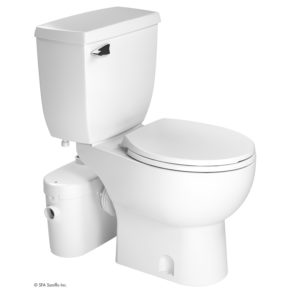 The majority of macerating toilet kits (e.g., the Saniaccess 2) will require venting for proper and safe operation.