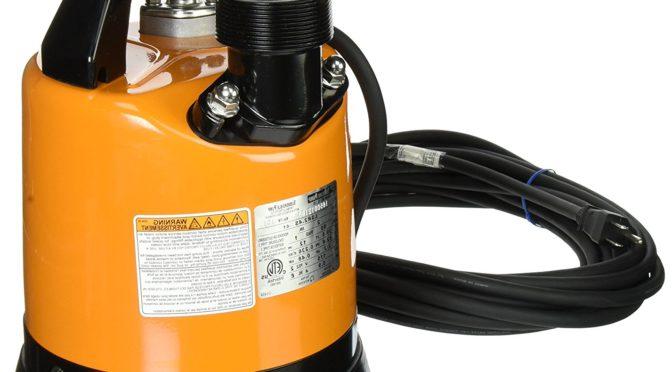 Tsurumi Hs2 4s 62 53 Gpm 2 Inch Submersible Trash Pump A